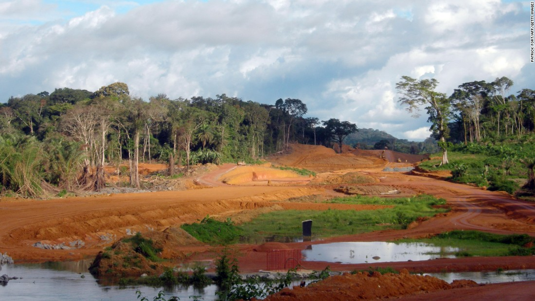 President Obiang is building a new capital for Equatorial Guinea deep in the rainforest -- in the town of Oyala. A six-lane highway is being built through the jungle to what is hoped will be a city that can house the President, government and 200,000 inhabitants.