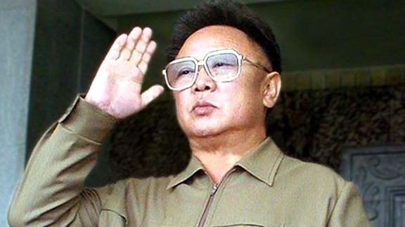 """Kim Jong Il saluted his troops during a military parade in Pyongyang in 2002 to mark the 70th anniversary of the founding of the country's army. He died after a heart attack in December 2011. State television reported that Kim died due to """"overwork"""" after """"dedicating his life to the people."""""""