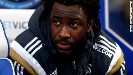 Ivory Coast striker Wilfried Bony joined Swansea City from Dutch team Vitesse in 2013.