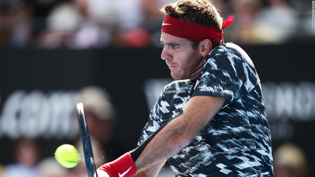Juan Martin del Potro is back after missing most of 2014 with yet more wrist troubles. Del Potro, the 2009 U.S. Open champion from Argentina, returned to action in Sydney this week.