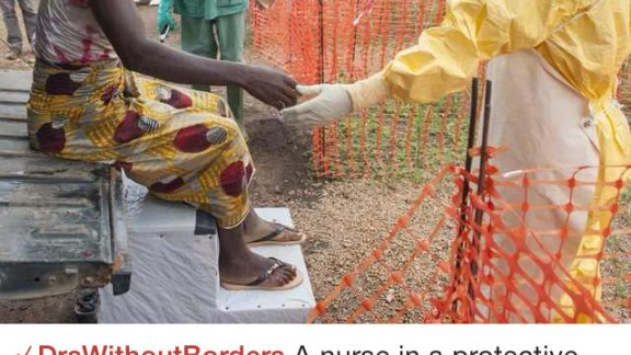 Figure1 is working in partnership with NGO Doctors Without Borders to help bring awareness to the ebola crisis in Africa. Here, a post from the NGO provides insight into a treatment facility in Guinea.