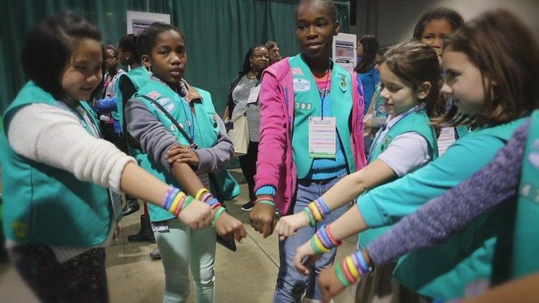 orig Girl Scouts kick off cookie season jw npr_00012517