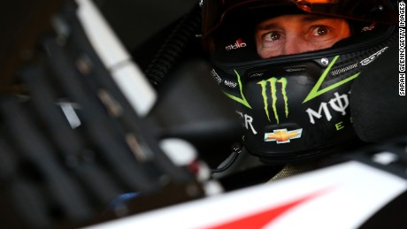 NASCAR suspended driver Kurt Busch indefinitely shortly before the Daytona 500 after a family court ruling.