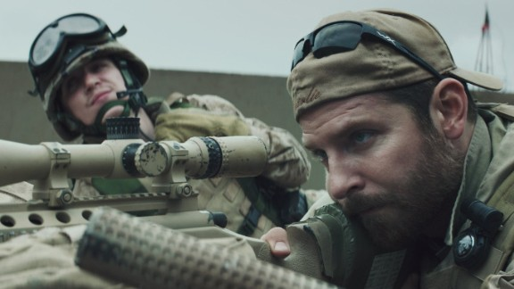 """Best picture: """"American Sniper"""" (pictured), """"Birdman or (The Unexpected Virtue of Ignorance),"""" """"Boyhood,"""" """"The Grand Budapest Hotel,"""" """"The Imitation Game,"""" """"Selma,"""" """"The Theory of Everything"""" and """"Whiplash."""""""