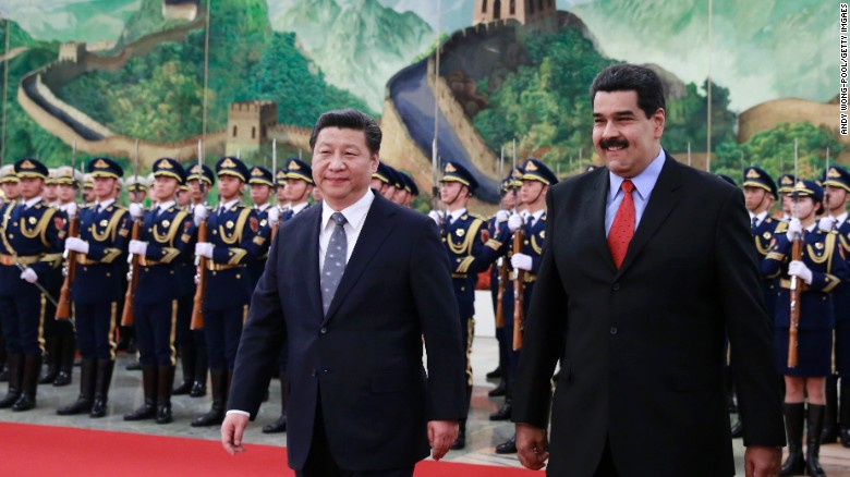 China has invested heavily in Venezuela