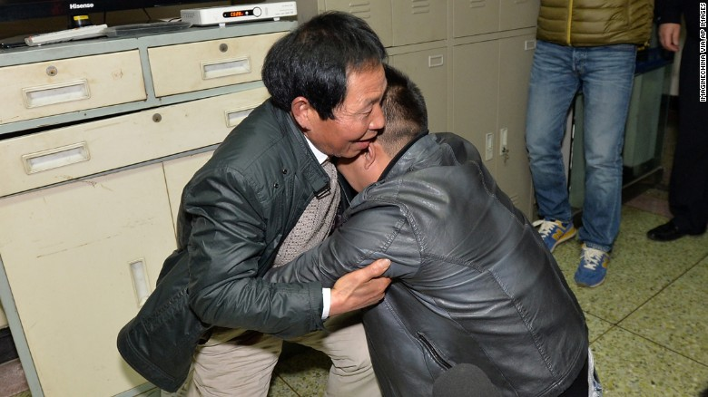 Trafficked boy reunited with family after 24 years