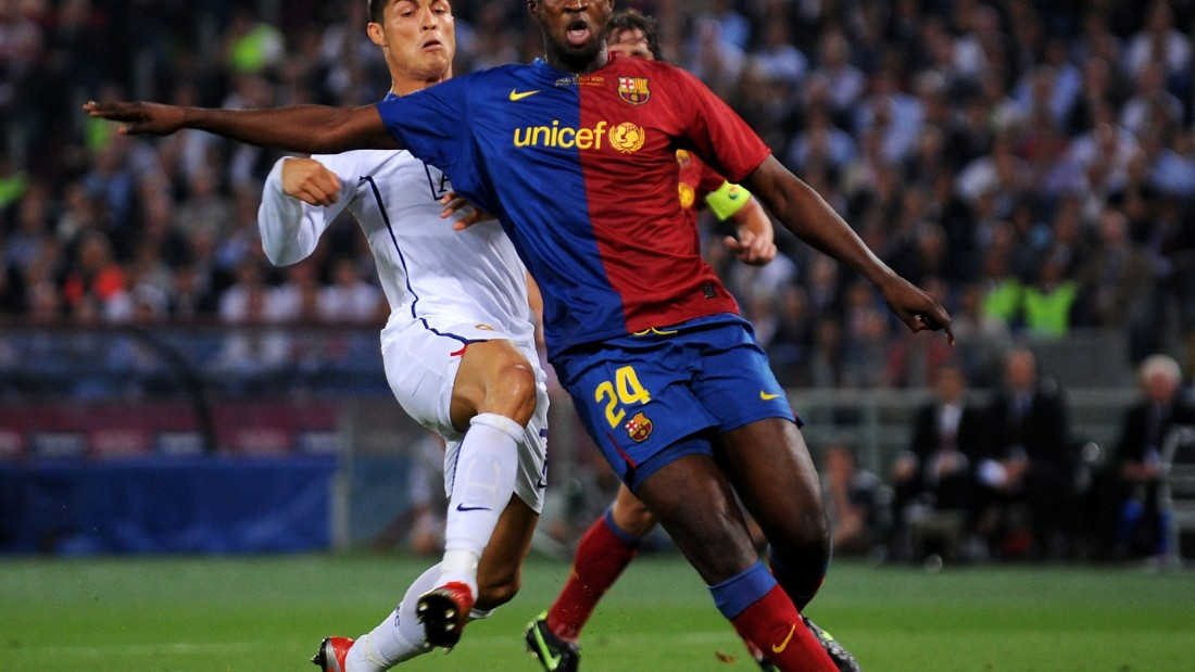 Injuries and suspensions meant Toure played  in central defense for the Champions League final that year against Manchester United. He did well to nullify the threat of Cristiano Ronaldo among others.