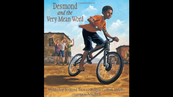 """""""Desmond and the Very Mean Word,"""" written by Desmond Tutu and Douglas Carlton Abrams and illustrated by A.G. Ford, is based on a story from Archbishop Desmond Tutu's childhood in South Africa."""