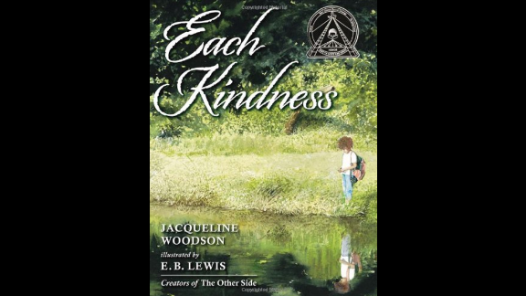 """""""Each Kindness,"""" written by Jacqueline Woodson and illustrated by E.B. Lewis, tells the story of a girl who teases another student until, eventually, that girl stops coming to school."""