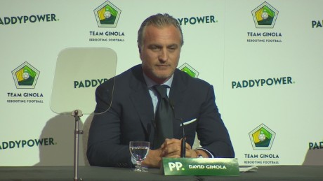 David Ginola, the next FIFA president?