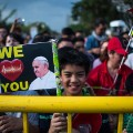 pope philippines crowds