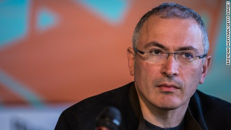 Khodorkovsky: 'I do want regime change in Russia'