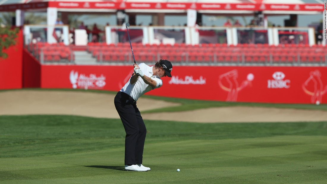 Thomas Pieters of Belgium continued his fine performances to sandwich Kaymer and McIlroy at 12-under-par after two rounds.