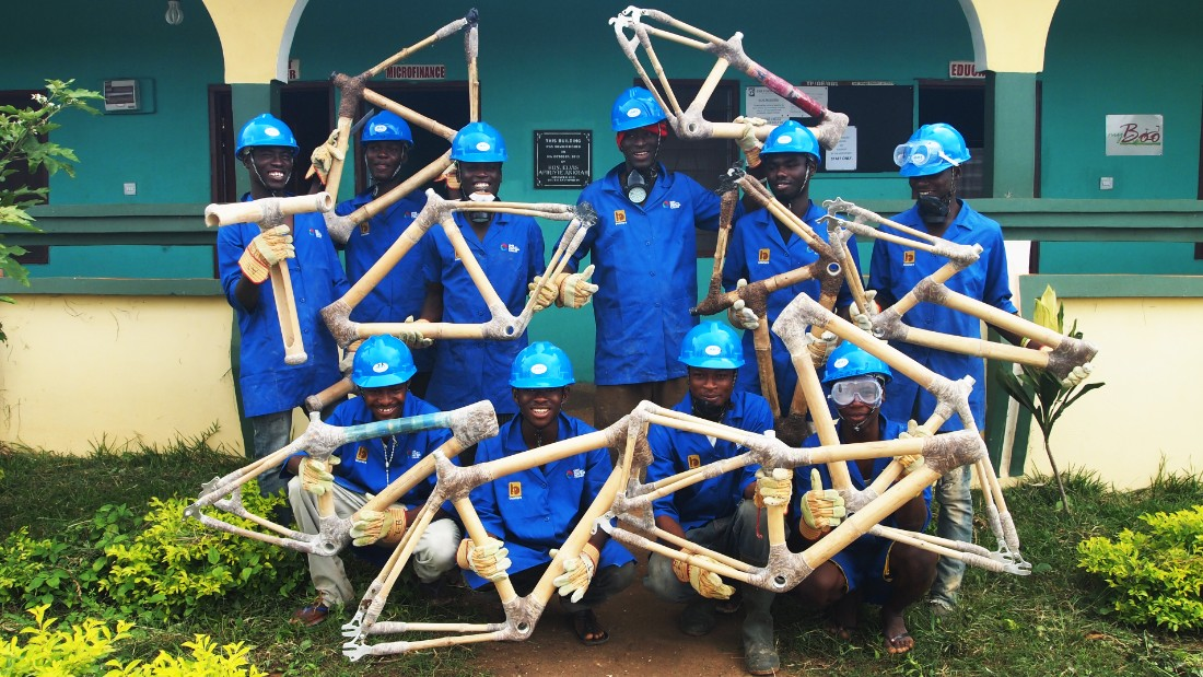 There are many challenges to manufacturing in rural Ghana well, including low capital, high production costs and unreliable electricity sources but despite these limitations Danso is determined for his bicycles to travel the country.