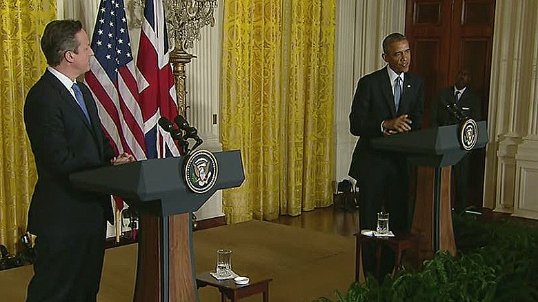 Obama, Cameron united against terror