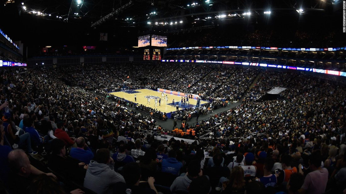 The Knicks came to the London 02 Arena this month, but a change of scenery wasn't enough to put the brakes on their losing streak.