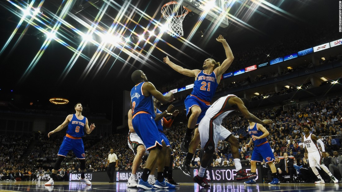 The Knicks are seeing stars after the heavy losses they've experienced.