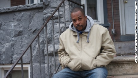 Travis Jones, a man who has struggled to find work after his release from prison.