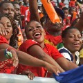 africa cup of nations happy fans