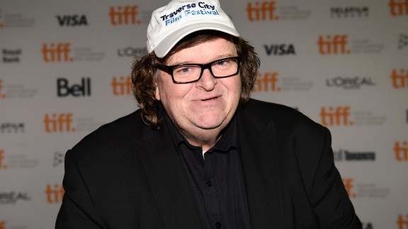 "TORONTO, ON - SEPTEMBER 08:  Filmmaker Michael Moore attends the ""Roger & Me"" anniversary screening during the 2014 Toronto International Film Festival at Ryerson Theatre on September 8, 2014 in Toronto, Canada.  (Photo by Aaron Harris/Getty Images)"