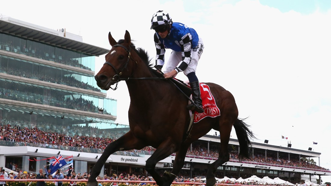 His most recent big victory came on board Protectionist at last November's Melbourne Cup, a victory which silenced some previous Australian critics.