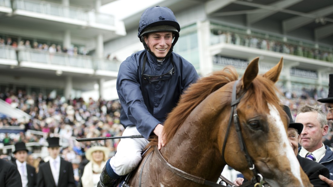 He has also won Britain's most famous flat race, the Epsom Derby, on two occasions, most recently in 2013 on board Ruler of the World.