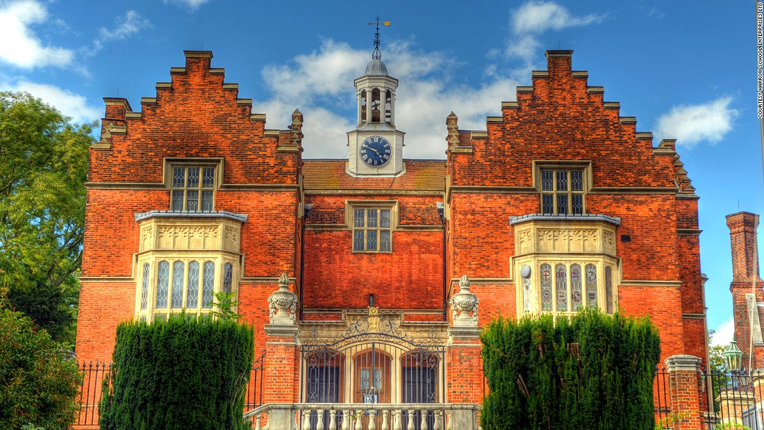Despite flunking its entrance exam, Churchill attended Harrow School, in a leafy northwest London suburb, from 1888 to 1893.