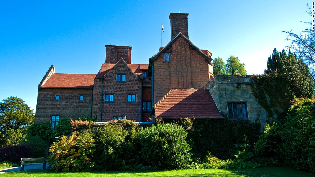 Chartwell, Churchill's family home in rural Kent, southeast of London.