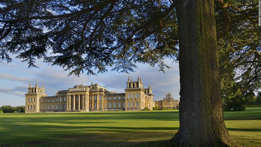Highlights at Blenheim Palace include visits to the chapel where he was baptized and the Temple of Diana where Churchill proposed to Clementine, his wife.
