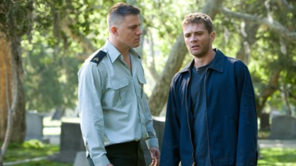 "The 2008 drama ""Stop-Loss"" starred Channing Tatum and Ryan Phillippe as troubled Iraq War vets who struggle to adapt to life back home in Texas. Audiences largely ignored it."