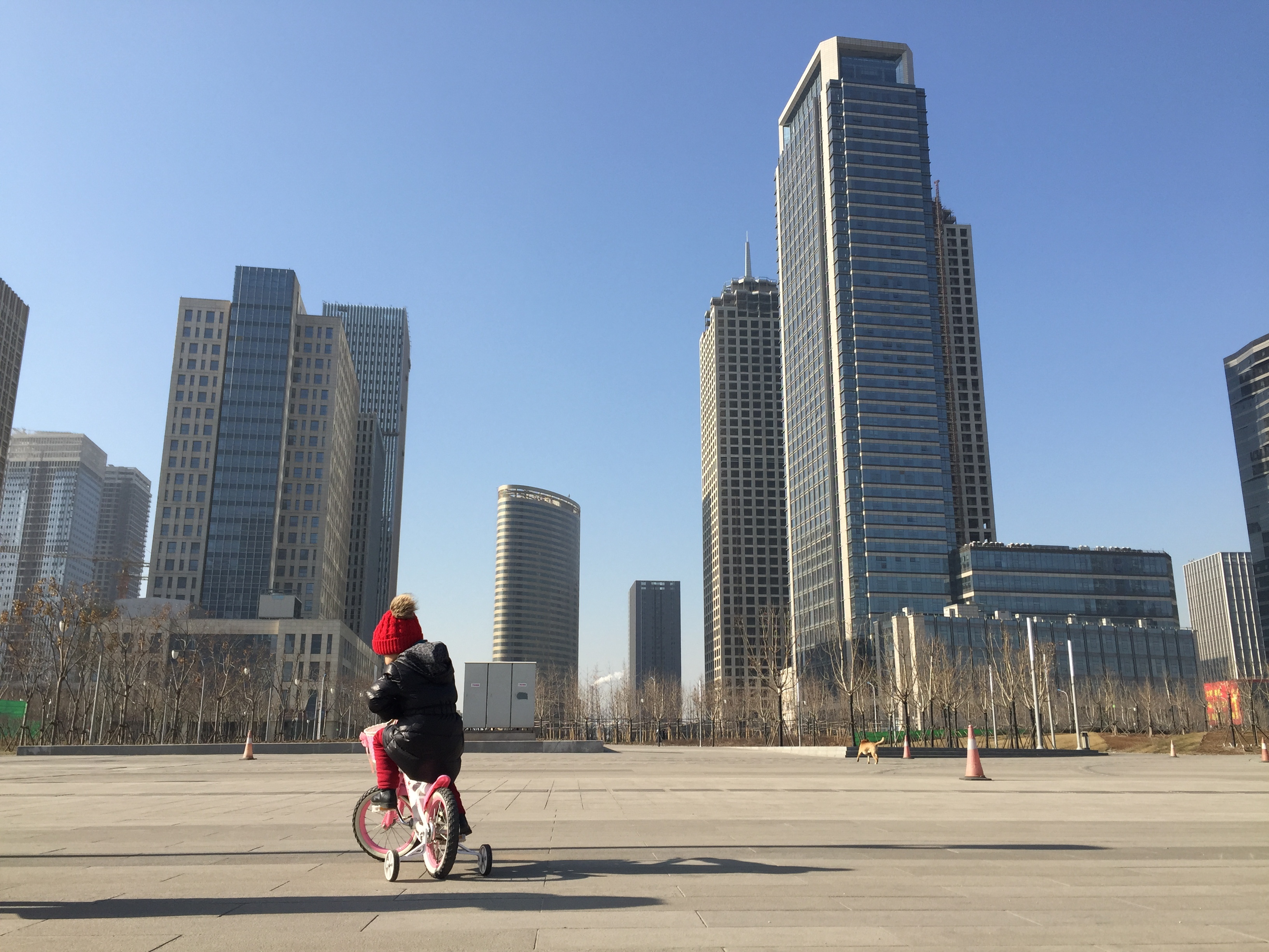 Inside a Chinese 'ghost city'
