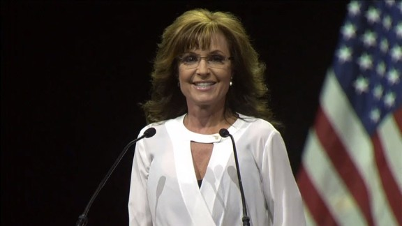 Palin shocked both liberal and conservative commentators at the National Rifle Association