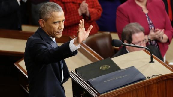 The speech was Obama