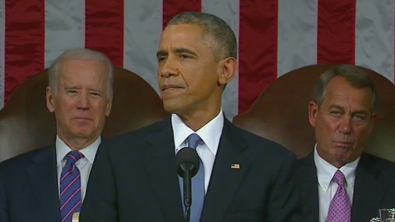 Obama seeks unity with Congress during SOTU