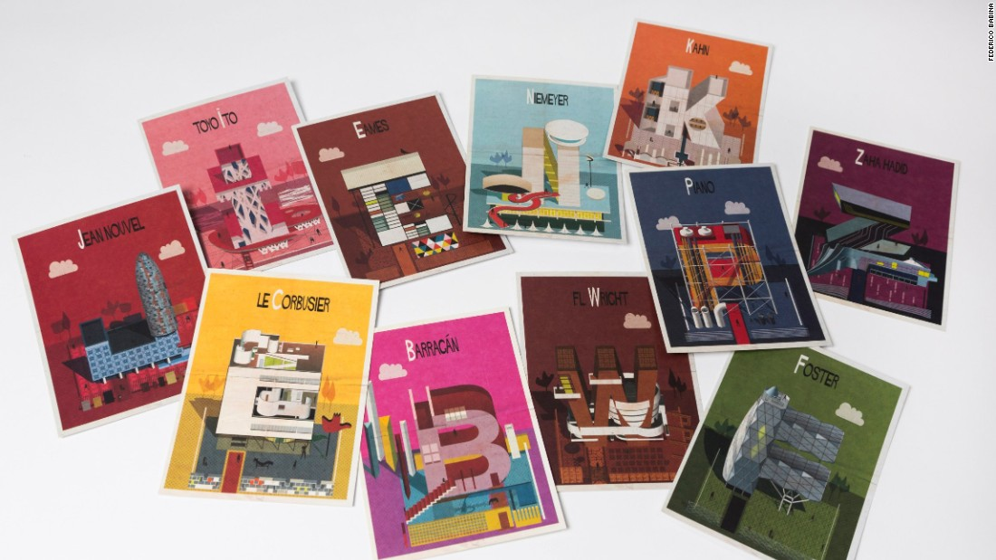 "Federico Babina's <em>Archibet</em> introduces 18 more architects, including Renzo Piano, Alvar Aalto, and Jean Nouvel. <br /><a href=""http://www.laurenceking.com/us/archibet/"" target=""_blank""><em><br />Archibet by Federico Babina (Laurence King, $12.95)</a></em>"