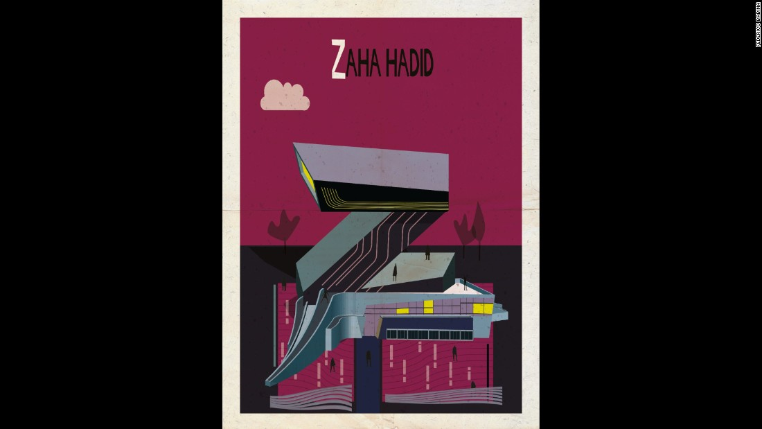 "<strong><br />1950-</strong><br /><strong>Iraqi-British</strong><br /><br />No architect working today divides opinion like Zaha Hadid. The first woman to take architecture's highest honor, the Pritzker Prize, she has won over business and world leaders to design buildings across the globe -- from London's Olympic Aquatics Centre to Beijing's Galaxy Soho Mall and the proposed Al-Wakrah stadium in Qatar.   <br />World cities are now queuing up to have her wavy imprint stamped on them. <br /><br />Criticism is never far away, with detractors claiming her buildings aren't built for people and grossly disregard their surroundings. <br /><br />But, undeniably a trailblazer in a white, male-dominated profession, today Hadid's stock has never been higher, with defenders saying she is simply too far ahead of her time.<br /><br /><strong>Quote:</strong> ""Architecture is really about well-being... On the one hand it's about shelter, but it's also about pleasure.""<br /><strong>Iconic building:</strong> <a href=""http://www.zaha-hadid.com/architecture/heydar-aliyev-centre/"" target=""_blank"">Heydar Aliyev Centre, Azerbaijan</a>"