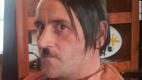 Still image of the leader of Germany's Pegida movement, Lutz Bachmann, taken from Facebook