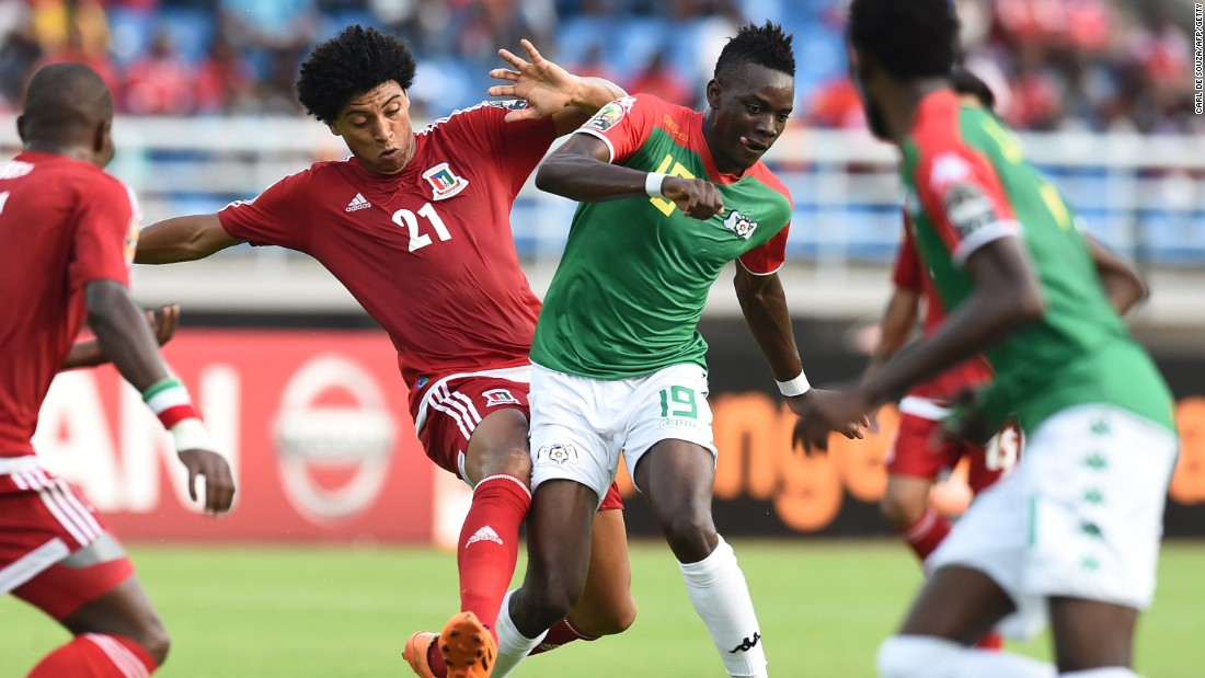 The Group A match between host Equatorial Guinea and Burkina Faso, runners-up in the last AFCON, ended in a goalless draw
