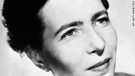"Simone de Beauvoir's best-selling book ""The Second Sex"" is often seen as a pivotal text in feminist philosophy."