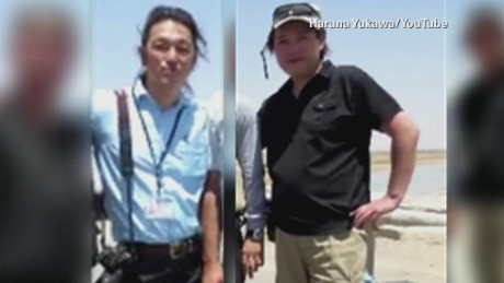 Japanese hostages held by ISIS met in Syria