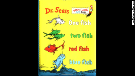 "Dr. Seuss ""One Fish, Two Fish, Red Fish, Blue Fish"""