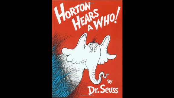 """""""Horton Hears a Who!"""" was published in 1954. A film version came out in 2008."""