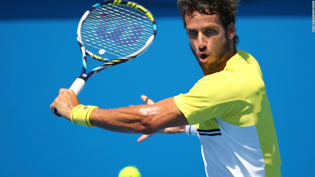 Feliciano Lopez admits he's lucky to still be in the tournament. The 12th seed -- for the second straight round -- saved a match point to advance. On Thursday, Lopez's opponent, Adrian Mannarino, retired in the fourth set.