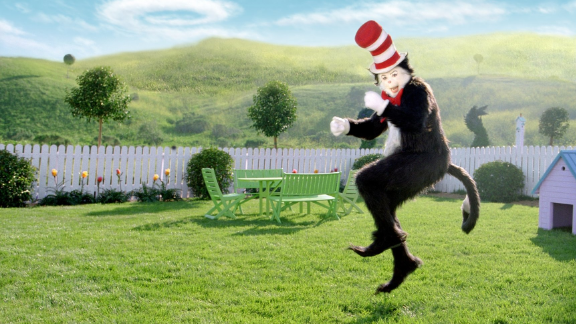 """""""The Cat in the Hat"""" was made into a film in 2003. The movie, starring Mike Myers as the titular feline, got poor reviews."""