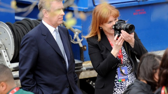 In 2010, Prince Andrew had to distance himself from his ex-wife Sarah Ferguson