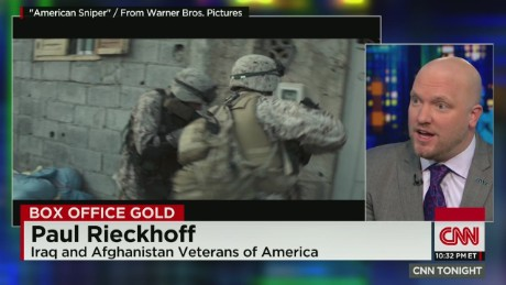 Iraq War vet: 'This film got it right'