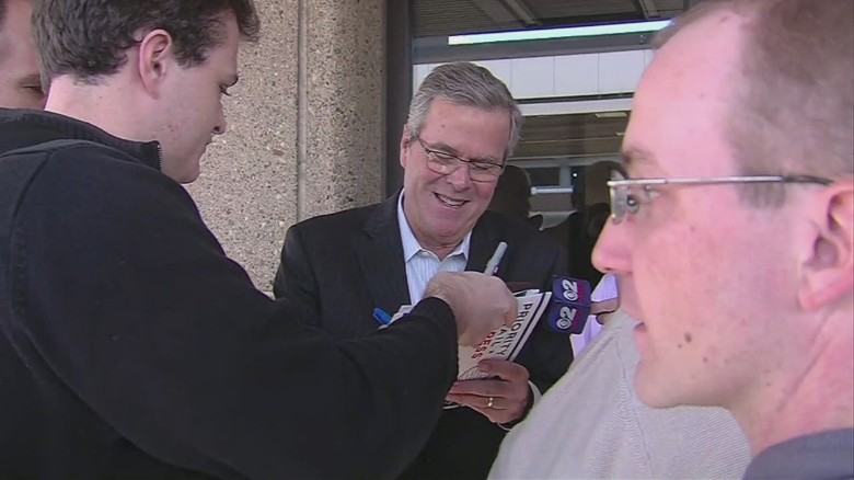Jeb Bush arrives in Utah for meeting with Mitt Romney