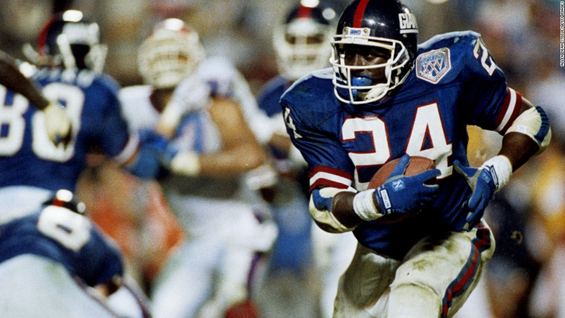 Super Bowl XXV will likely always be remembered for Buffalo kicker Scott Norwood missing a field goal as time expired. But New York Giants running back Ottis Anderson won MVP in what was the closest Super Bowl ever. Anderson had 102 yards and a touchdown as the Giants prevailed 20-19.