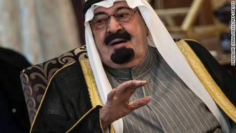 File photo: Saudi King Abdullah bin Abdulaziz al-Saud