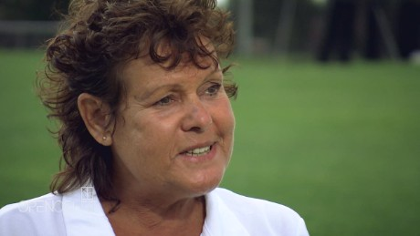 Tennis legend rediscovers her roots